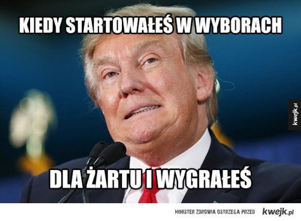 Memy z okazji zwycięstwa Trumpa