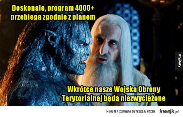 Antoni Macierewicz i Program 4000 plus