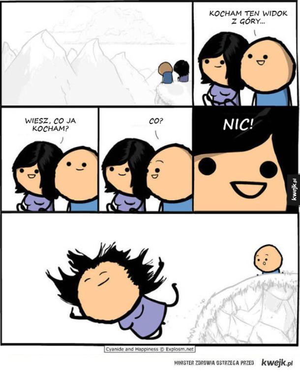 Cyanide & Happiness, seria niepoprawnych komiksów, których ciężko nie lubić