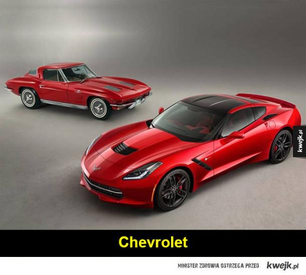 Klasyczne samochody kontra ich nowe wersje