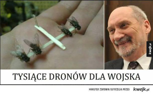 Drony dla wojska