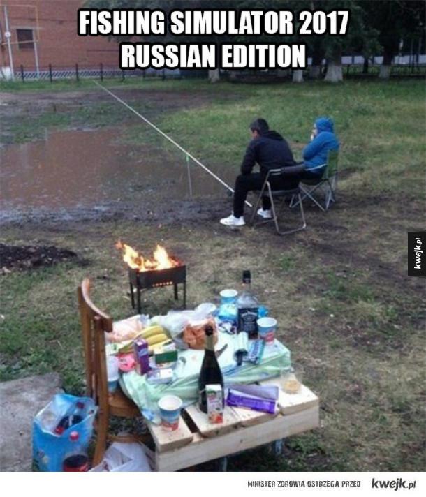 Rosyjski symulator wędkarstwa