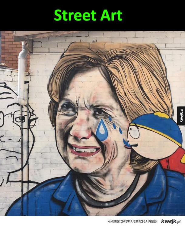Hillary  po wyborach
