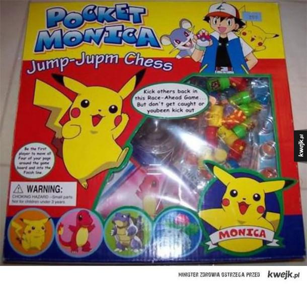Epickie podróbki zabawek
