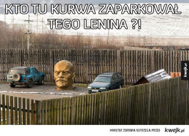 Kto go tam zaparkował?