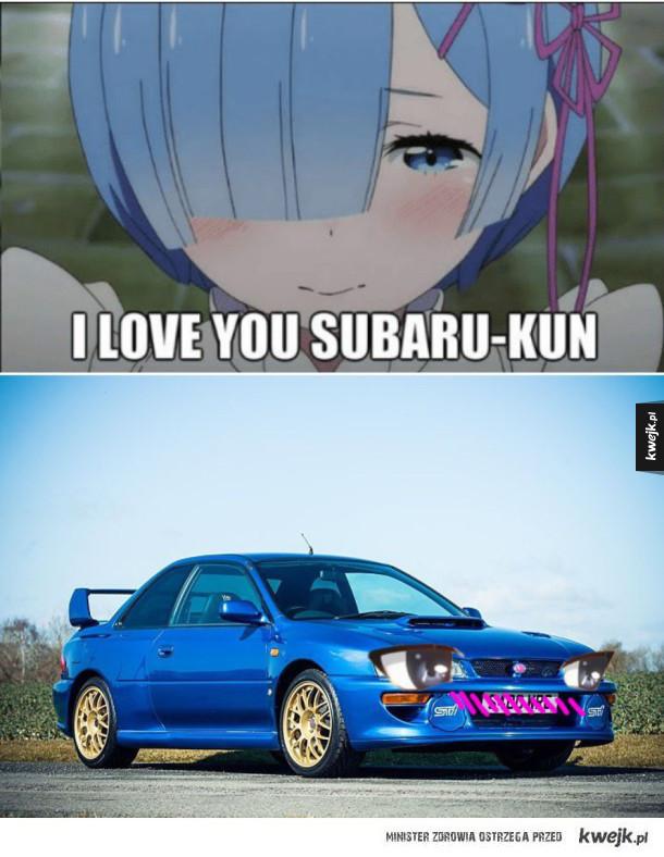 Piękne Subaru