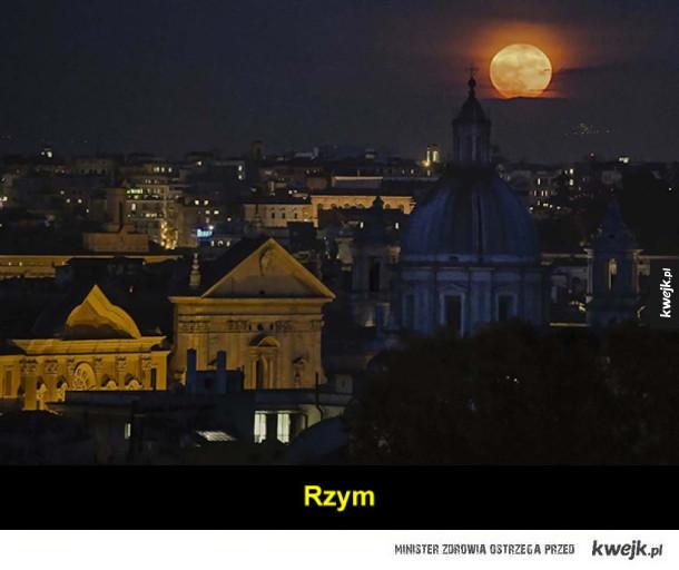 Fotografie Superksiężyca z całego świata