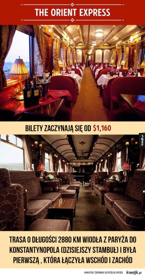 Najbardziej luksusowe pociągi świata