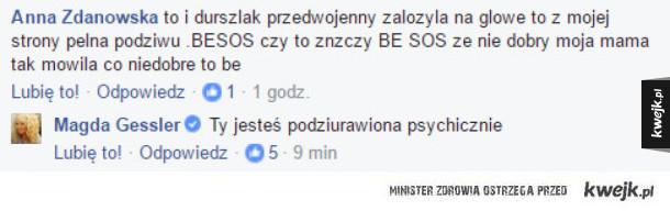 Magda Gessler mistrz ciętej riposty