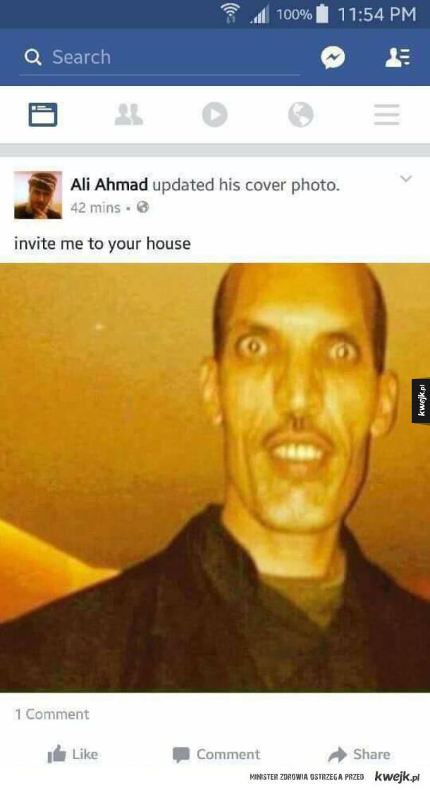 Zaproś Aliego