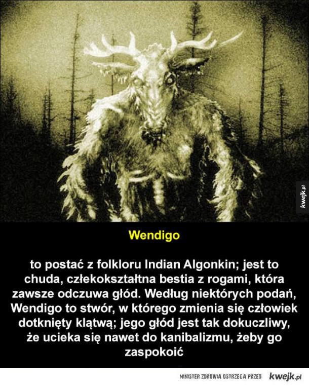Potwory z amerykańskiego folkloru i legend miejskich