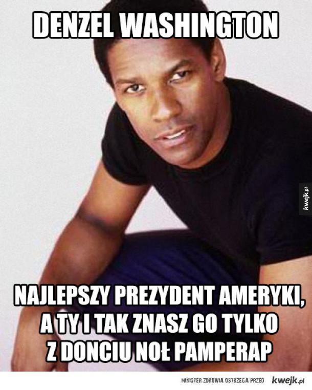 Denzel Washington wybitny polityk