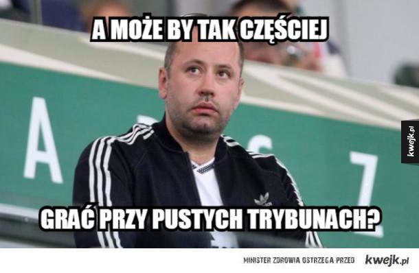 Memy po zremisowanym meczu Legia vs Real Madryt - Gramy tak dobrze Bo kibice to nasz 12-sty zawodnik