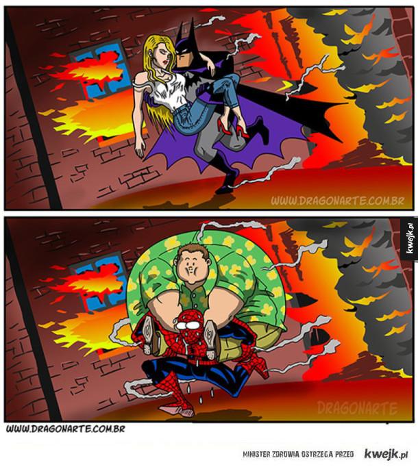 Fajne komiksy o superbohaterach