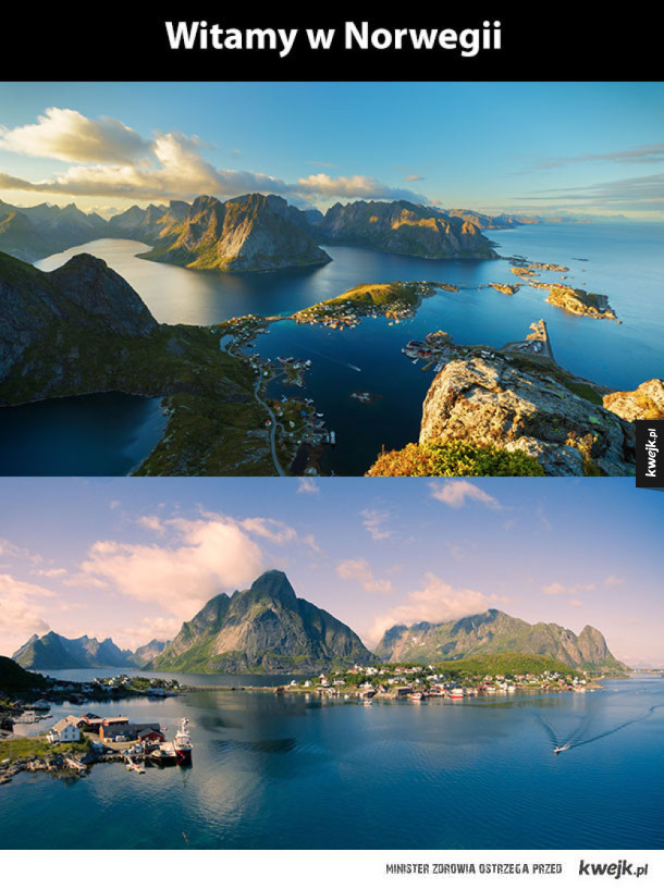 Norwegia magiczne miejsce