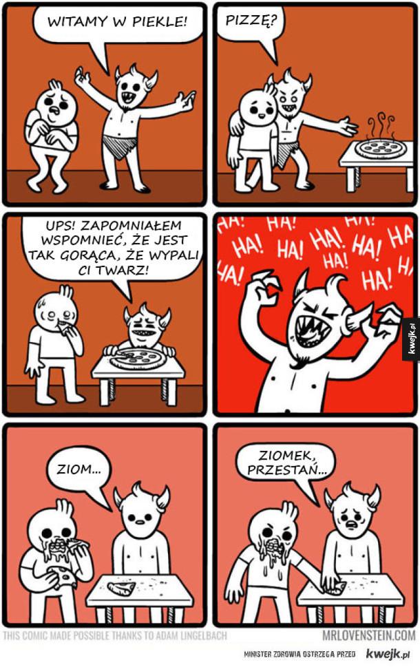 Komiksy dla fanów czarnego humoru