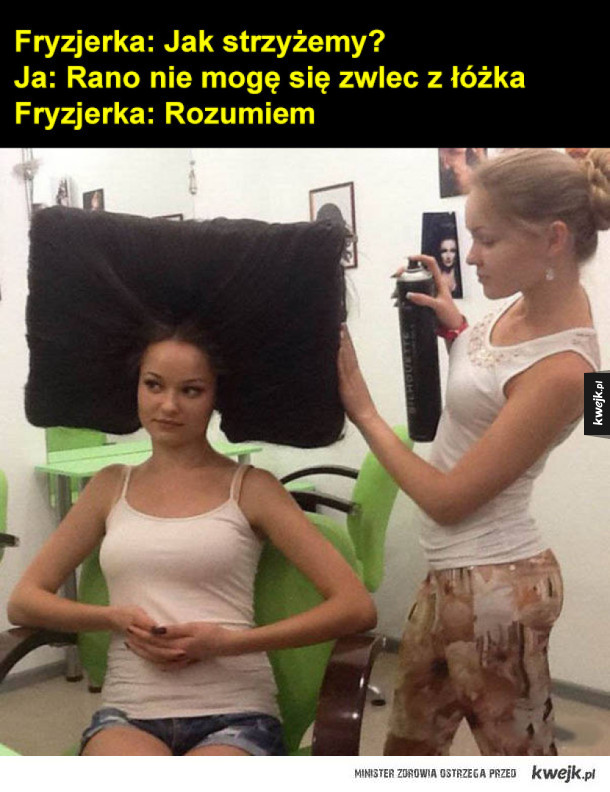 Praktyczna fryzura