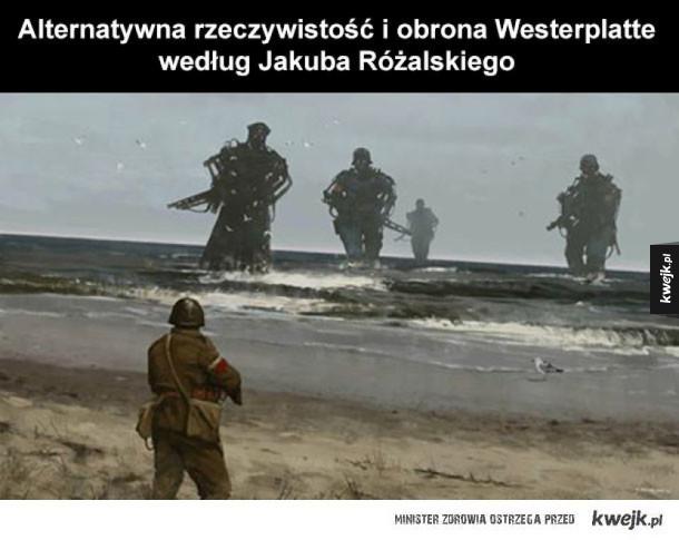 Alternatywna rzeczywistość i obrona Westerplatte