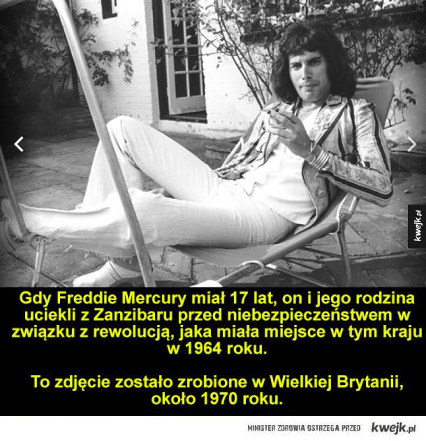 Freddie Mercury - prawdziwa muzyczna legenda