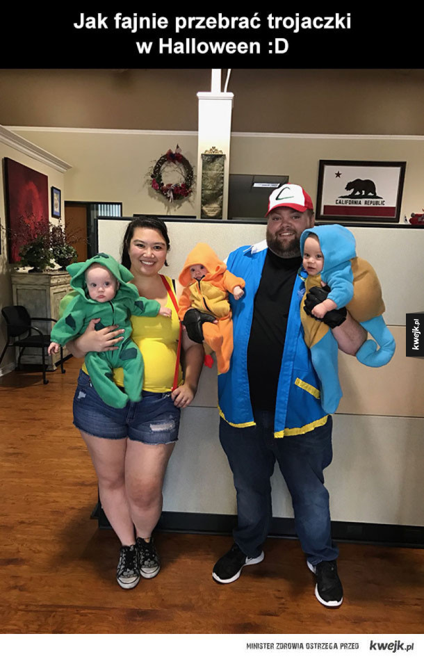 Pokemonowe przebranie na Halloween