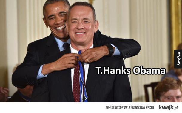 dziękuję pan obama