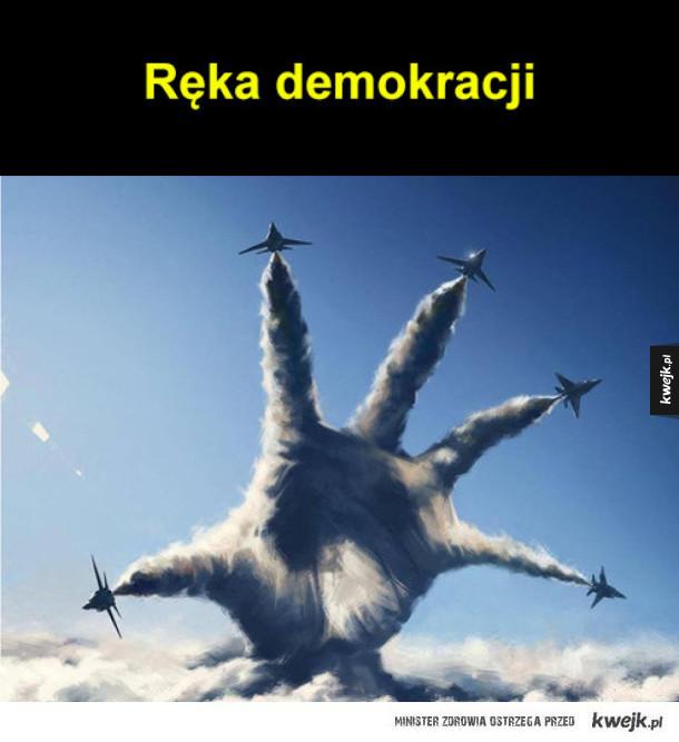 Ręka demokracji