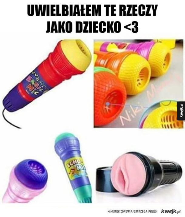 Mikrofony z dzieciństwa