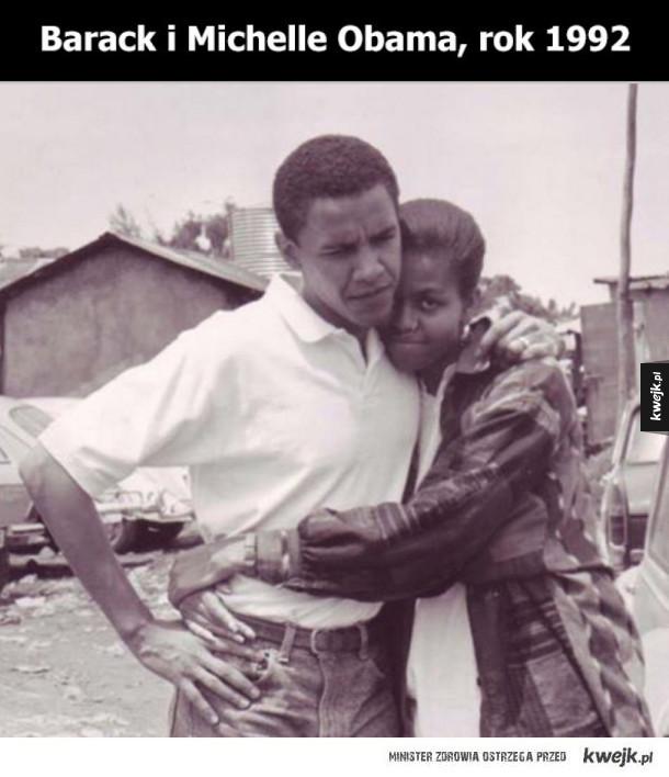 Obamowie bardzo dawno temu