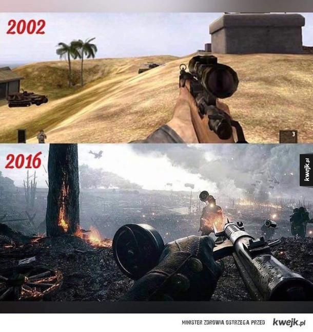 Różnica w grafice gier