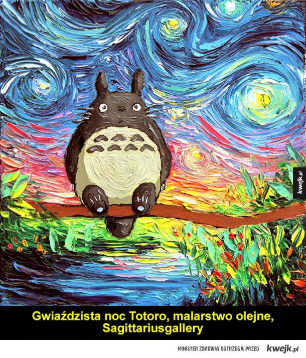 Świetne prace zainspirowane animacjami Studia Ghibli
