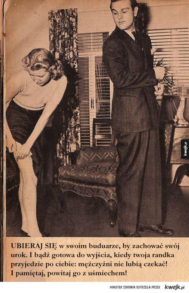 Randkowe porady dla singielek (z 1938 roku)