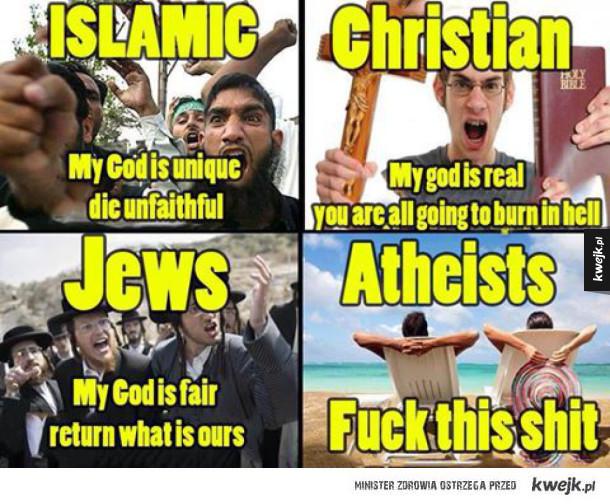Ateista tutaj