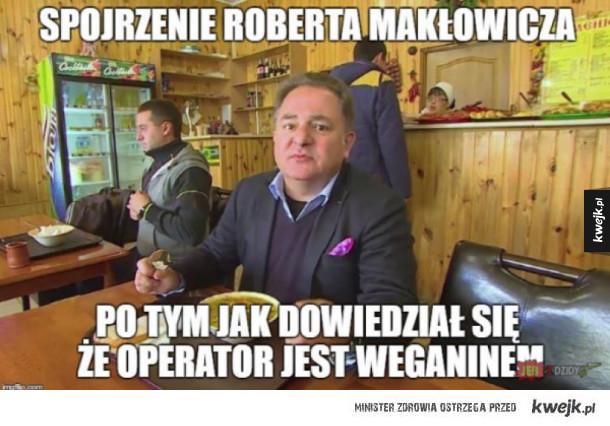 Gwałtowna reakcja Roberta Makłowicza