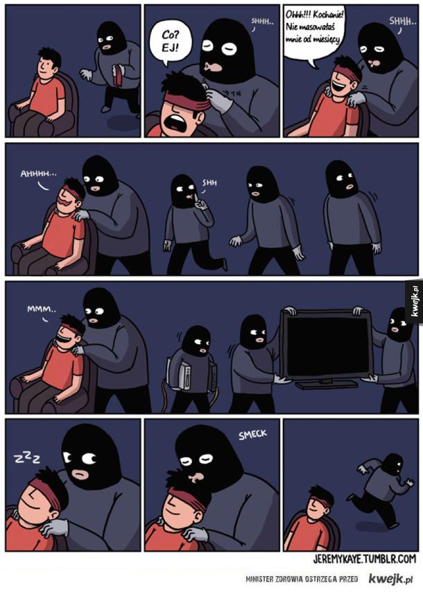 Szarmancki złodziej