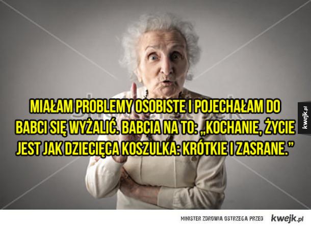 Babcie takie są