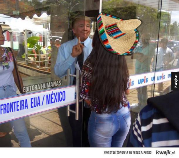 Tymczasem na granicy z Meksykiem