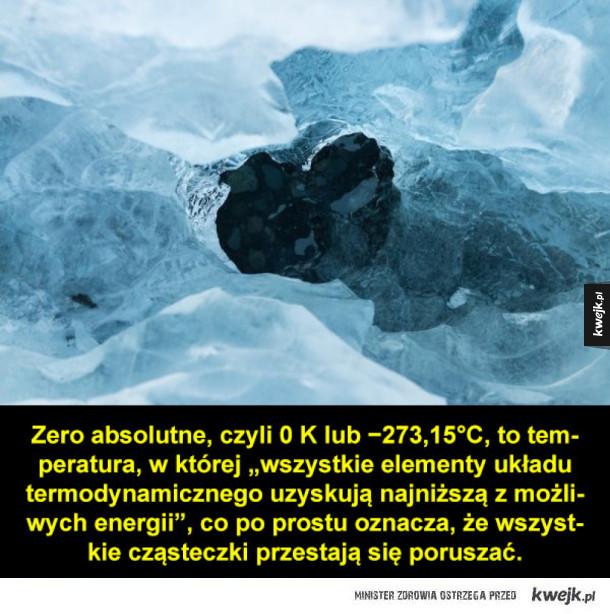 Temperaturowe rekordy