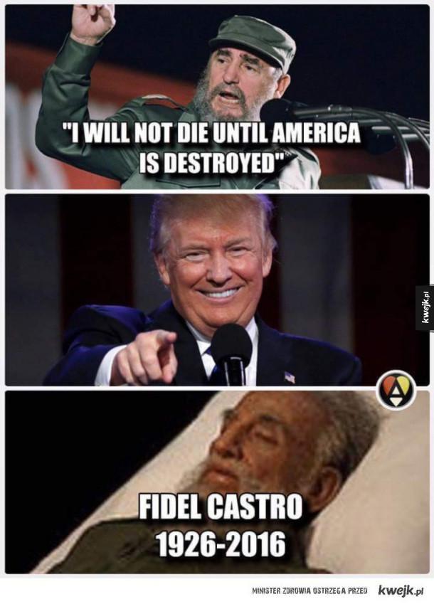 Fidel Castro obiecał