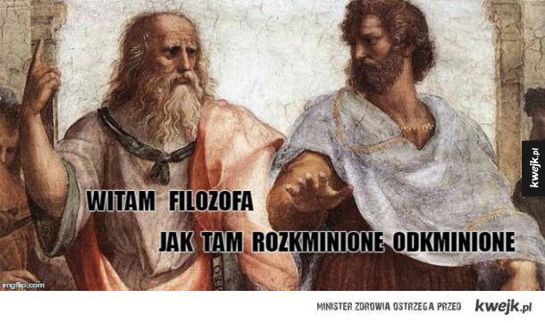 Witam filozofów