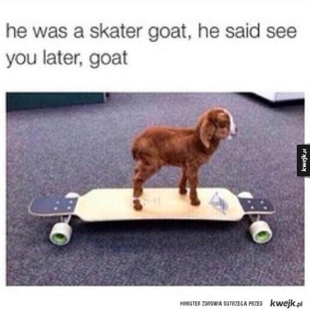 he was a skater goat