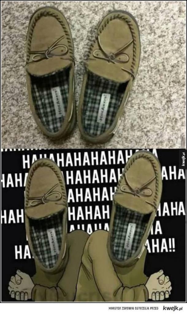 Zło wcielone w buty!