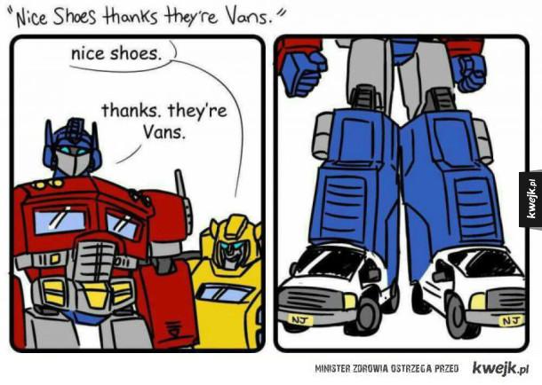tymczasem w świecie transformersów