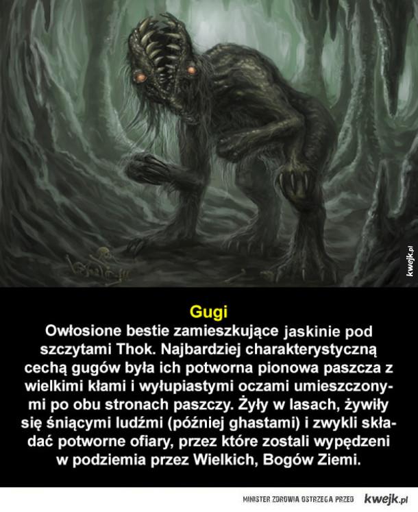 Bóstwa i stwory z mitologii Cthulhu, cz. 2