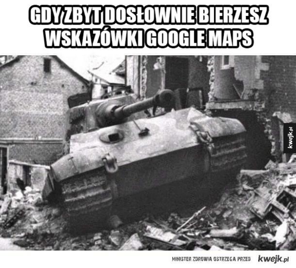 Instrukcja z google maps