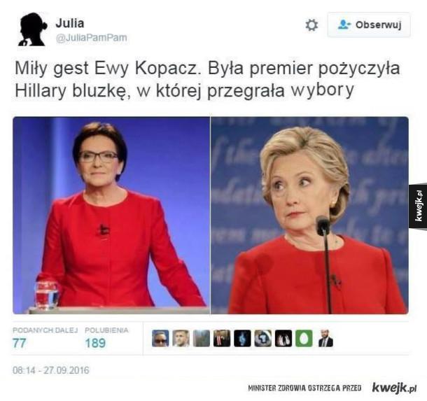 Brawo Ewa Kopacz