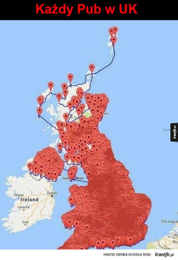 Puby w Wielkiej Brytanii