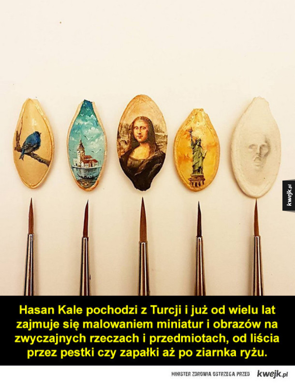 Hasan Kale i jego mikro sztuka