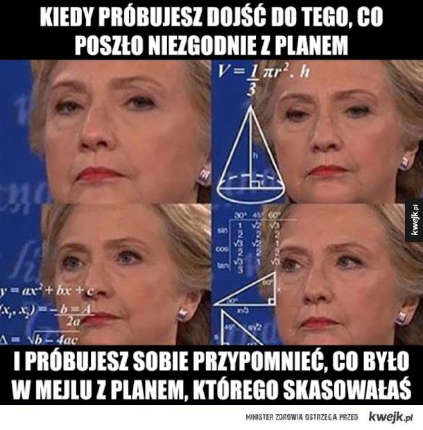 Tymczasem Hillary Clinton