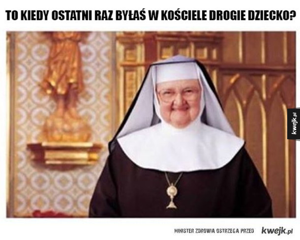 Typowa zakonnica