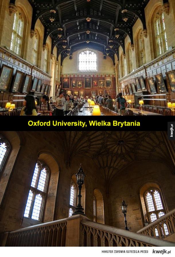 Uniwersytety i uczelnie, które wyglądają jak Hogwart